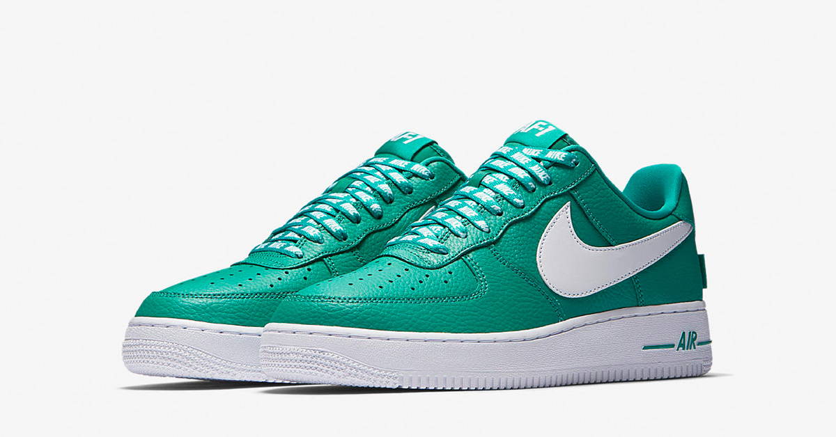 Nike Air Force 1 Low NBA Neptune Green White