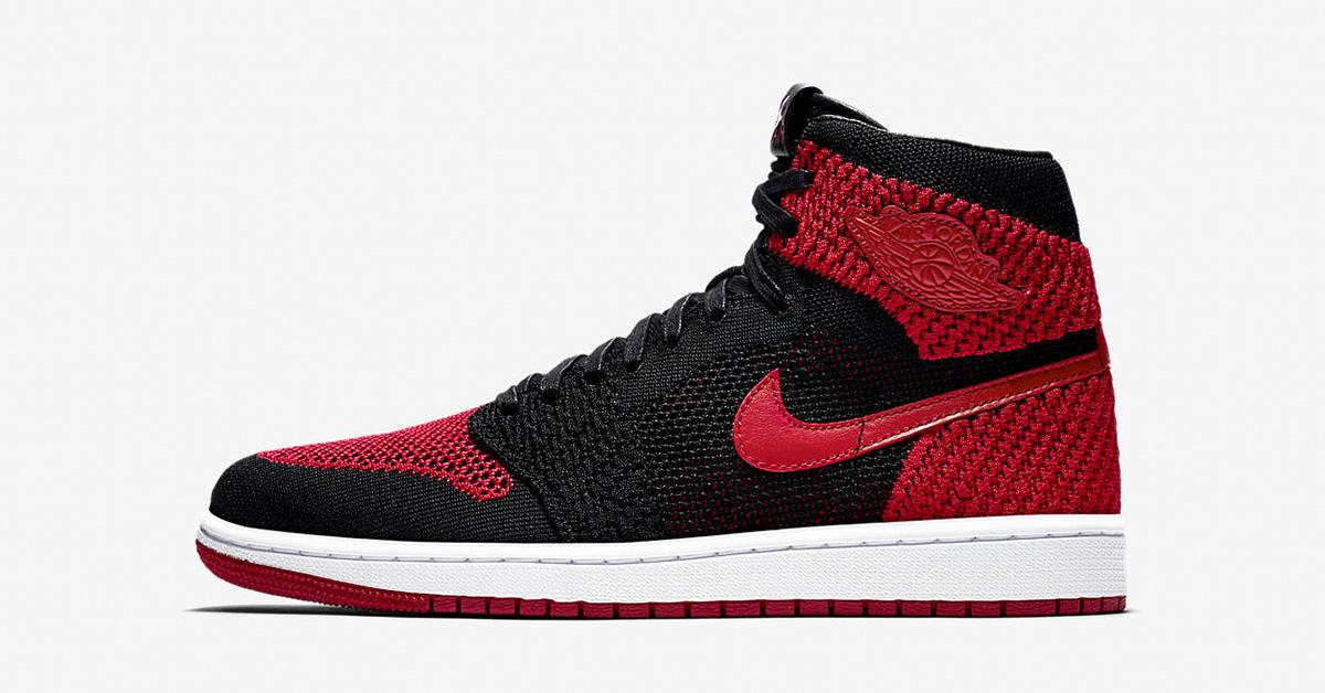 Nike Air Jordan 1 Flyknit Bred