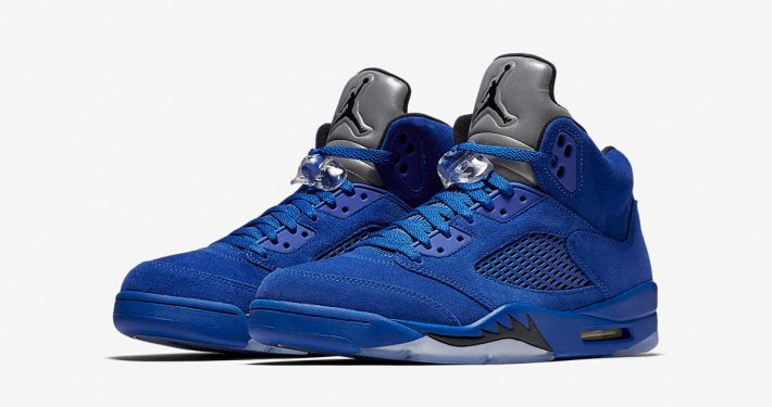Nike Air Jordan 5 Retro Game Royal Black