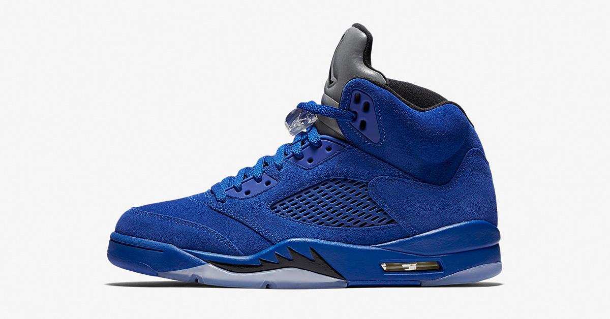 Nike Air Jordan 5 Retro Game Royal Black