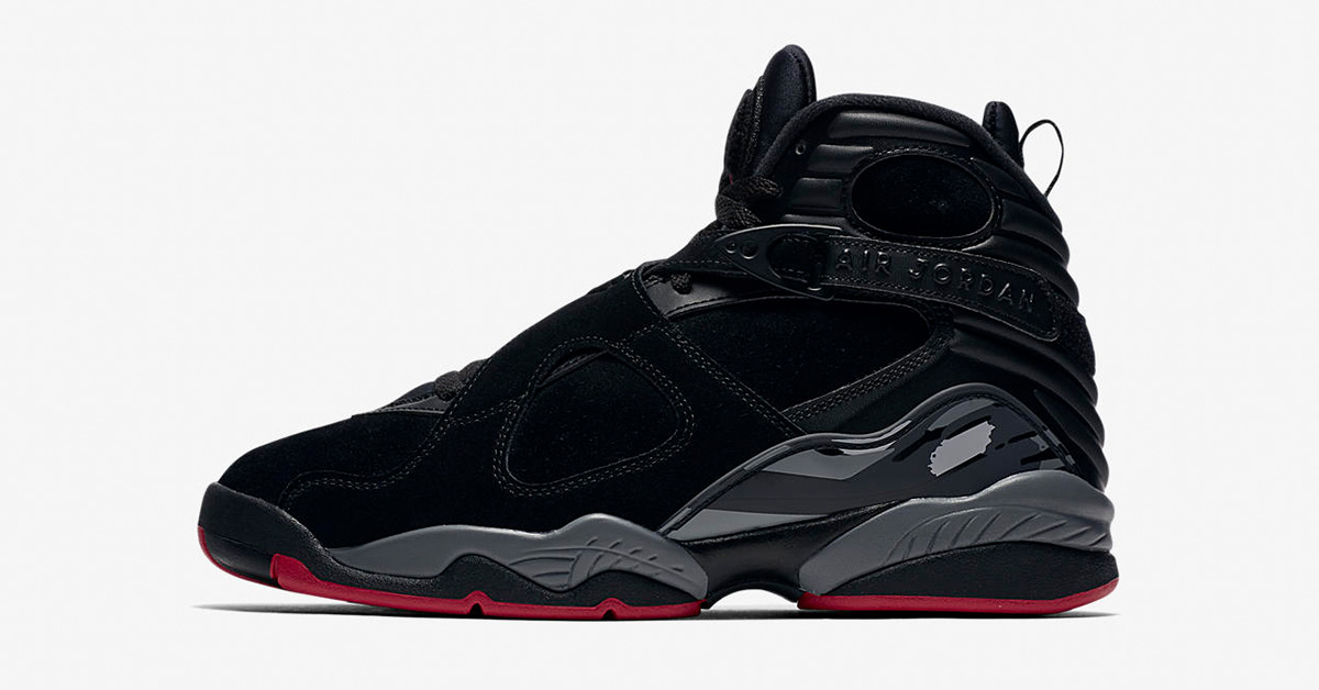 Nike Air Jordan 8 Retro Black Gym Red