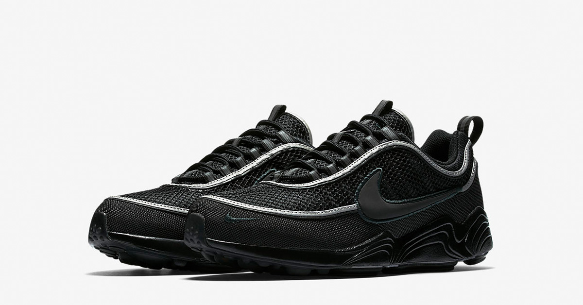 Nike Air Zoom Spiridon Black Anthracite