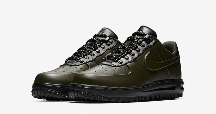 Nike Lunar Force 1 Duckboot Low Sequoia Black