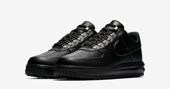 Nike Lunar Force 1 Duckboot Low Triple Black