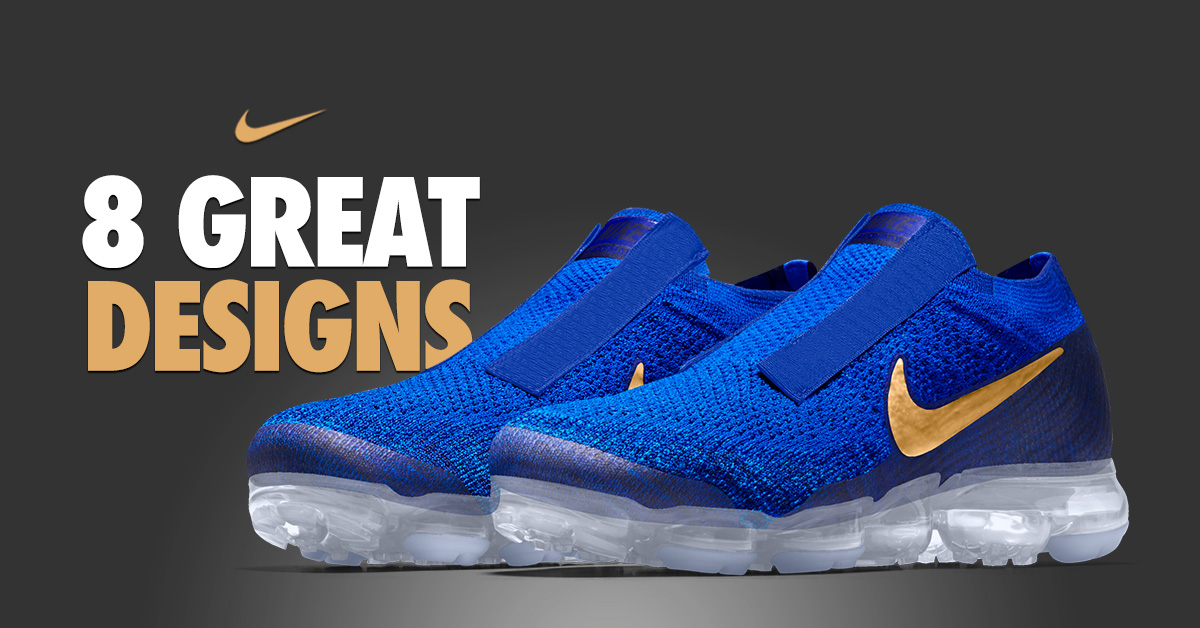 018442ce7e 8 Great Laceless Nike Air VaporMax SP iD Designs - Next Level Kickz