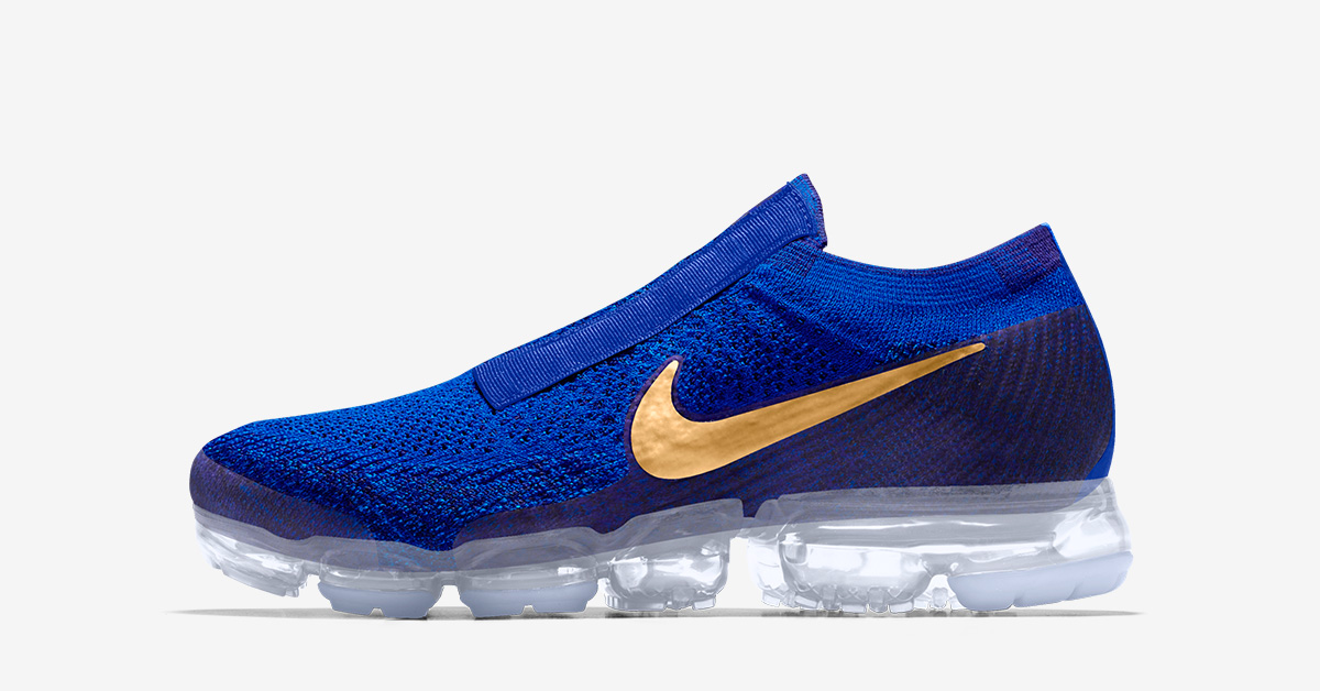 Laceless Nike Air VaporMax SP iD