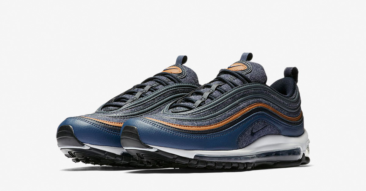 137e37f923 Nike Air Max 97 Premium Thunder Blue - Next Level Kickz