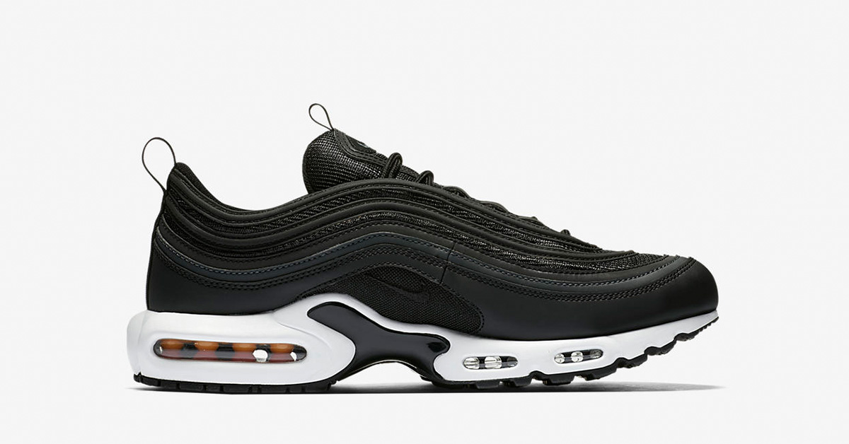 Nike Air Max Plus 97 Black White AH8143-001