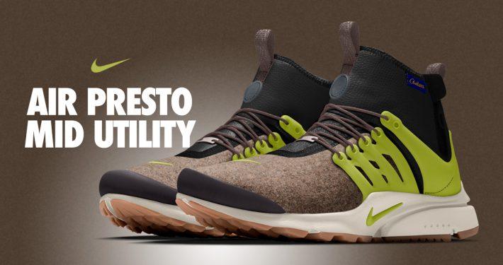 Nike Air Presto Mid Utility Pendleton iD