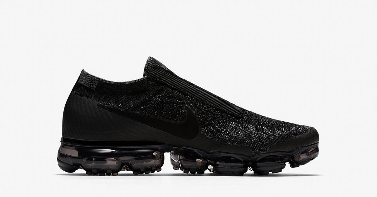 Nike Air VaporMax Laceless Night Black AQ0581-001