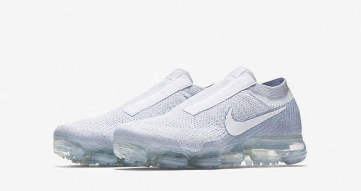 Nike Air VaporMax Laceless Pure Platinum AQ0581-002