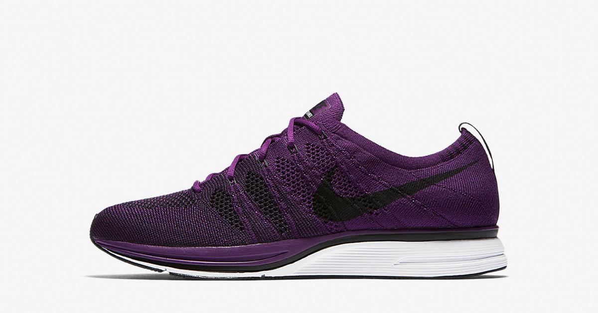 Nike Flyknit Trainer Night Purple AH8396-500