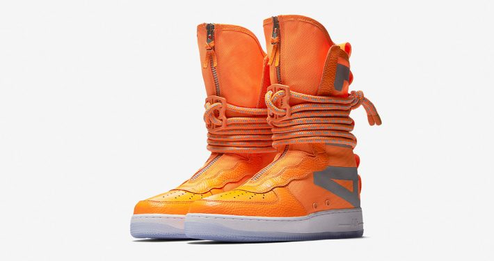 Nike Special Field Air Force 1Hi Total Orange AA1128-800