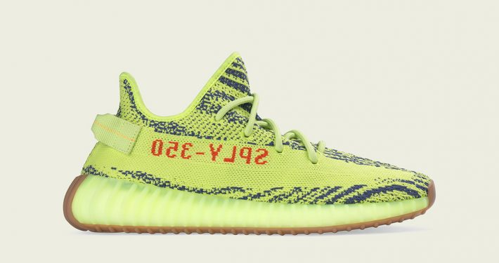 Adidas Yeezy Boost V2 Semi Frozen Yellow