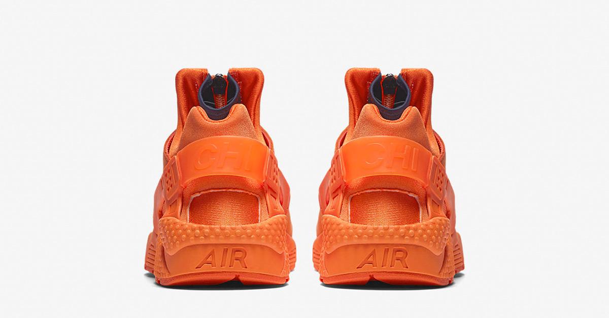 nike huarache orange blaze
