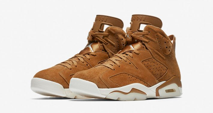 Nike Air Jordan 6 Wheat 384664-705