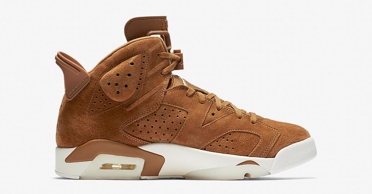 Nike Air Jordan 6 Wheat 384664-705