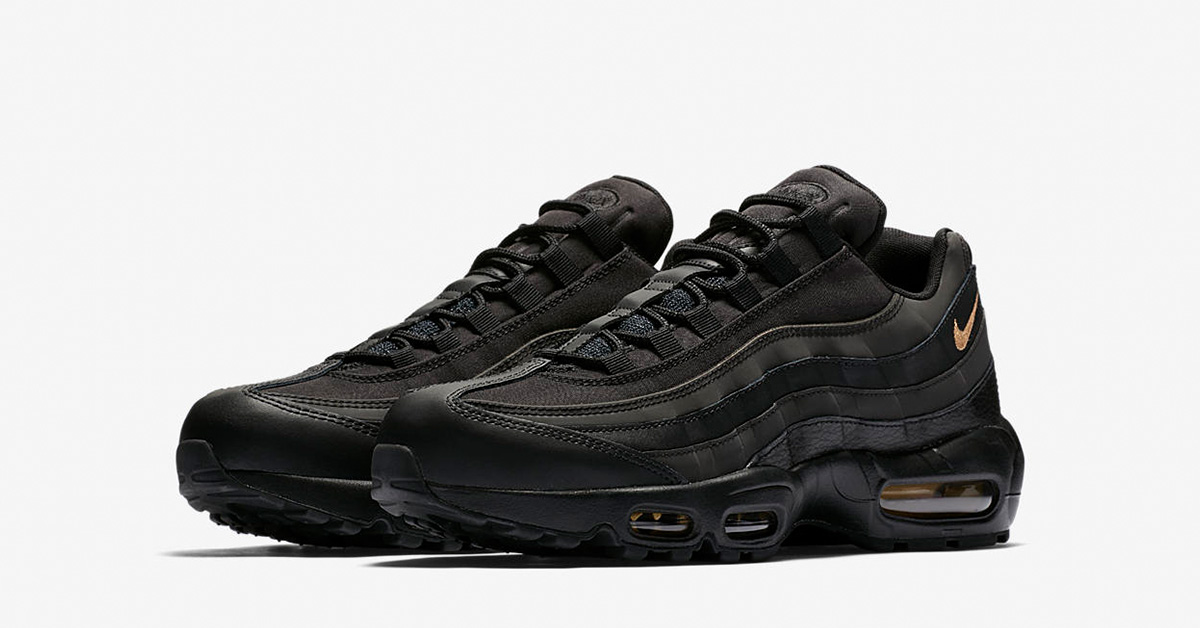 Nike Air Max 95 Premium Black Gold 924478-003