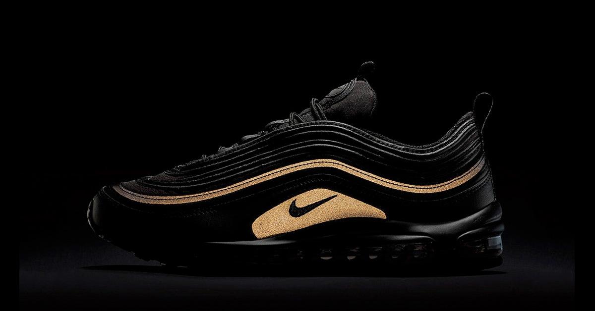 Nike Air Max 97 Premium Black Gold AA3985-001