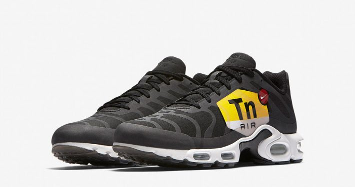 Nike Air Max Plus Big Logo Black White AJ0877-001