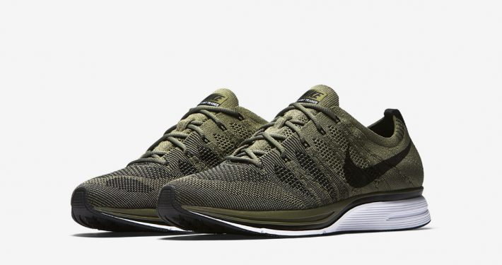 Nike Flyknit Trainer Medium Olive AH-8396-200