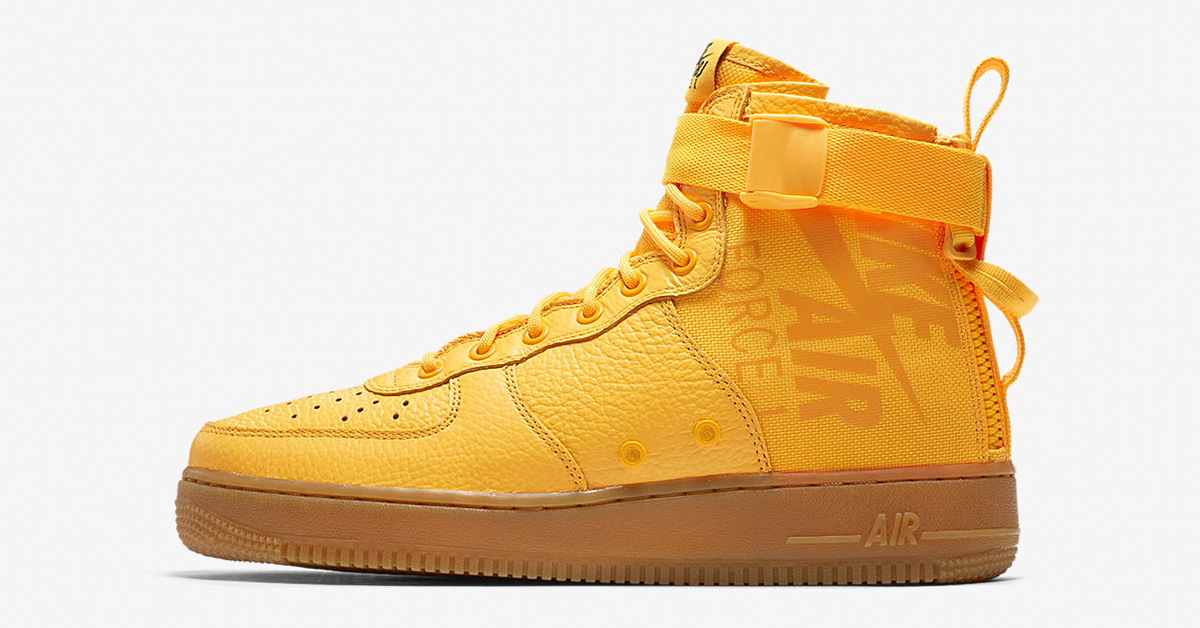 Nike Special Field Air Force 1 Mid OBJ Laser Orange 917753- 801