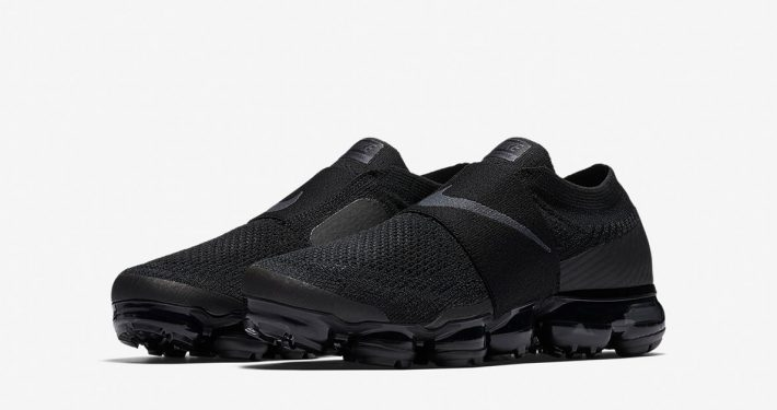Womens Nike Air VaporMax Moc Triple Black AA4155-004
