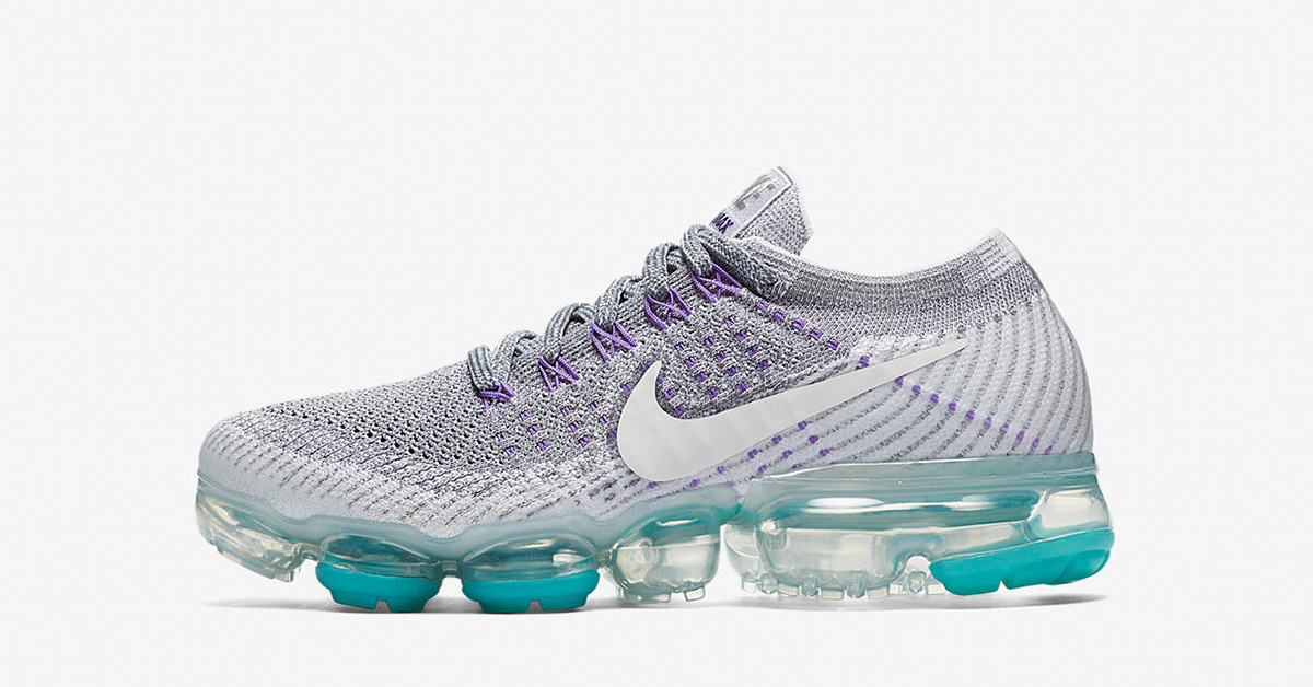 Womens Nike Air VaporMax Pure Platinum Wolf Grey 922914-002