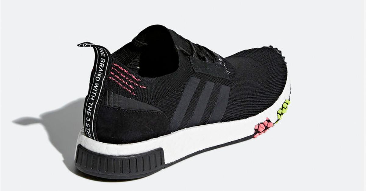 Adidas NMD Racer Primeknit Core Black Solar Pink CQ2441