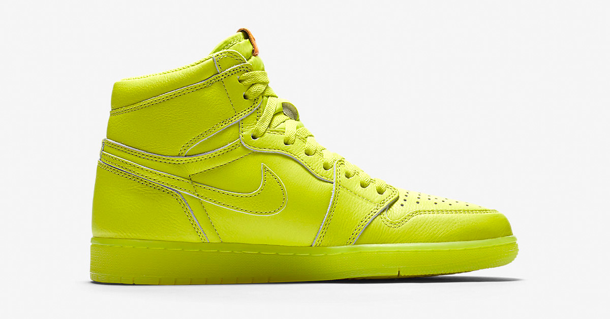Nike Air Jordan 1 High Like Mike Lemon Lime AJ5997-345