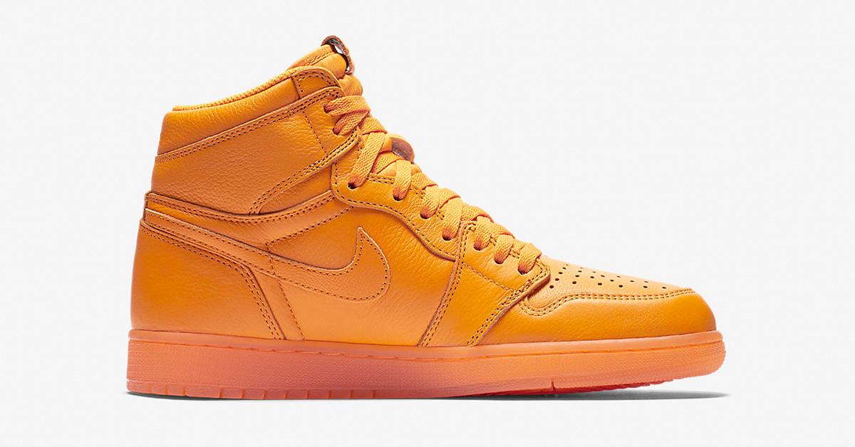 Nike Air Jordan 1 High Like Mikey Orange AJ5997-880