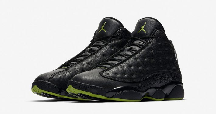 Nike Air Jordan 13 Retro Black Altitude Green 414571-042