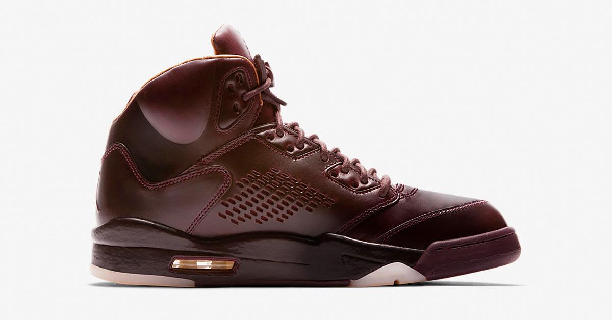 Nike Air Jordan 5 Retro Premium Bordeaux 881432-612