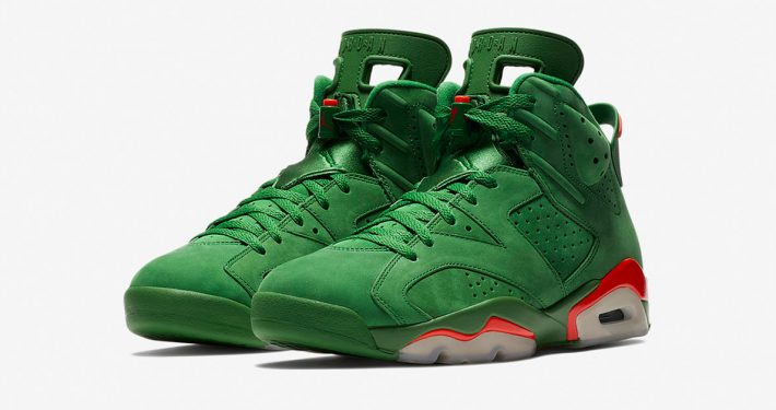 Nike Air Jordan 6 Like Mike Pine Green AJ5986-335