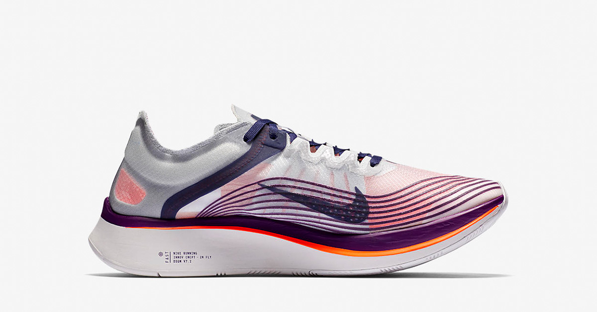 Nike Zoom Fly Neutral Indigo Total Crimson AA3172-500