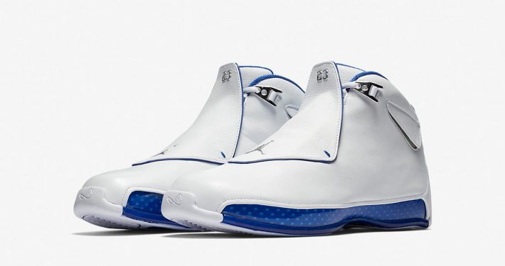 Nike Air Jordan 18 White Sport Royal AA2494-106