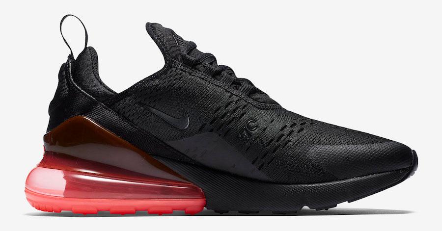 Nike Air Max 270 Black Hot Punch AH8050-010