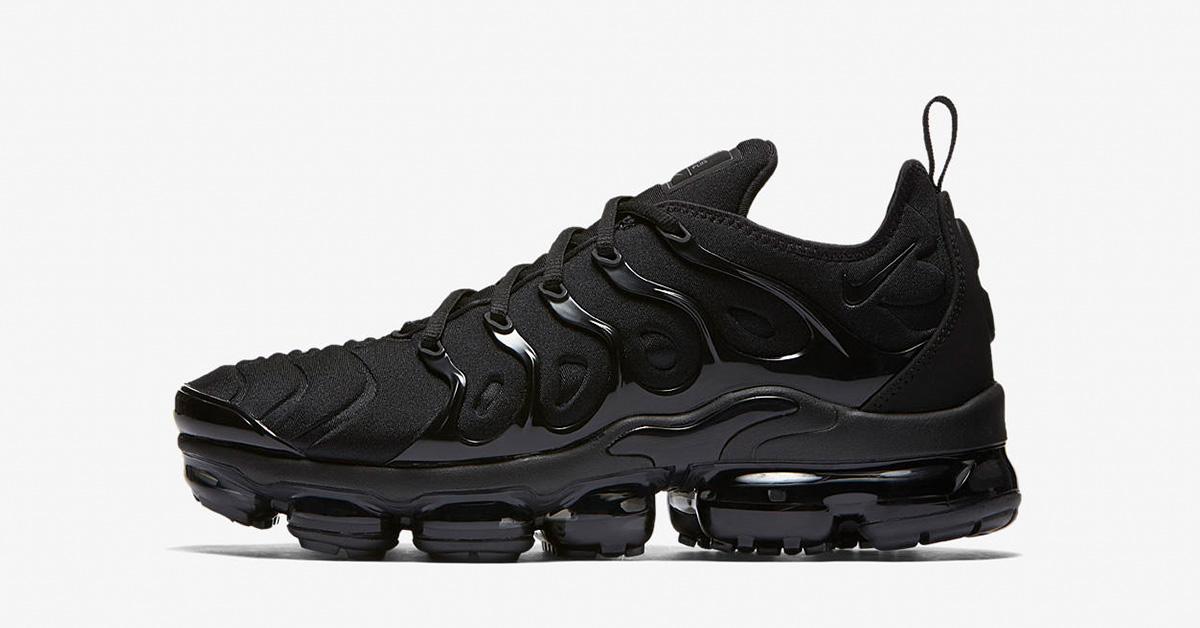 Nike Air Vapormax Plus Black Dark Grey 924453-004