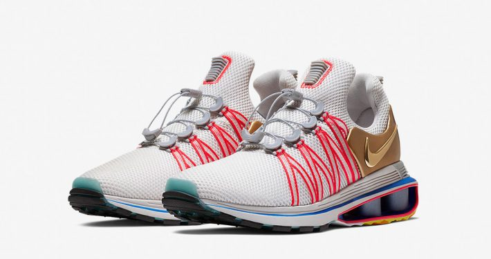 Nike Shox Gravity Metallic Gold Vast Grey AQ8553-009