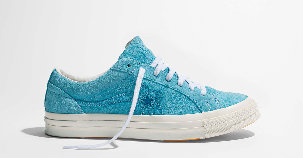 Tyler The Creator x Converse Golf le FLEUR One Star Bachelor Blue 160326C