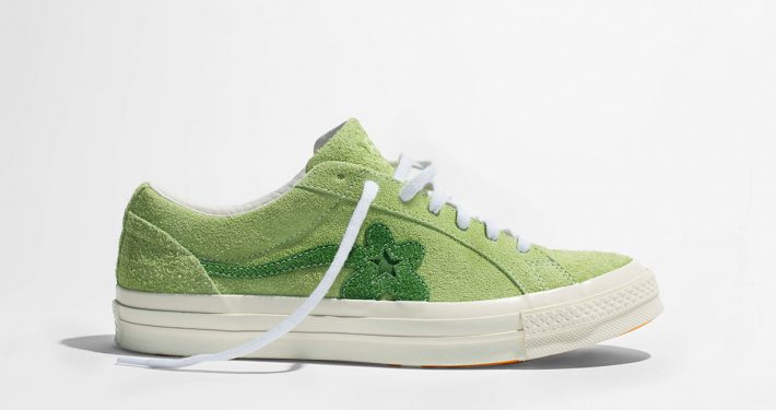 Tyler The Creator x Converse Golf le FLEUR One Star Jade Lime 160327C