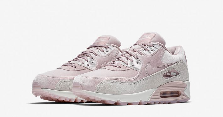Womens Nike Air Max 90 Cloud Plush 898512-600