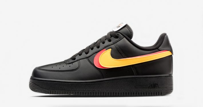 Nike Air Force 1 Black Swoosh Flavors AH8462-002