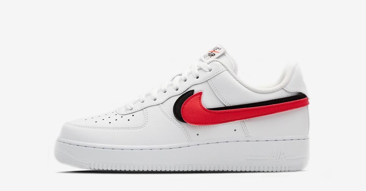 low priced 381a6 c553e Nike Air Force 1 White Swoosh Flavors - Next Level Kickz