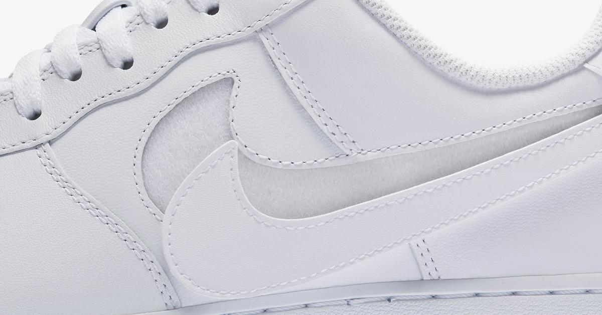 Nike Air Force 1 White Swoosh Flavors AH8462-101