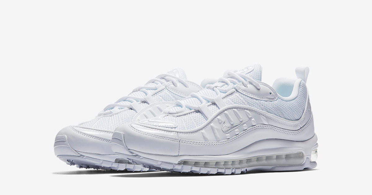 huge discount 752c9 5b605 ... uk nike air max 98 triple white dedbb f2ab1