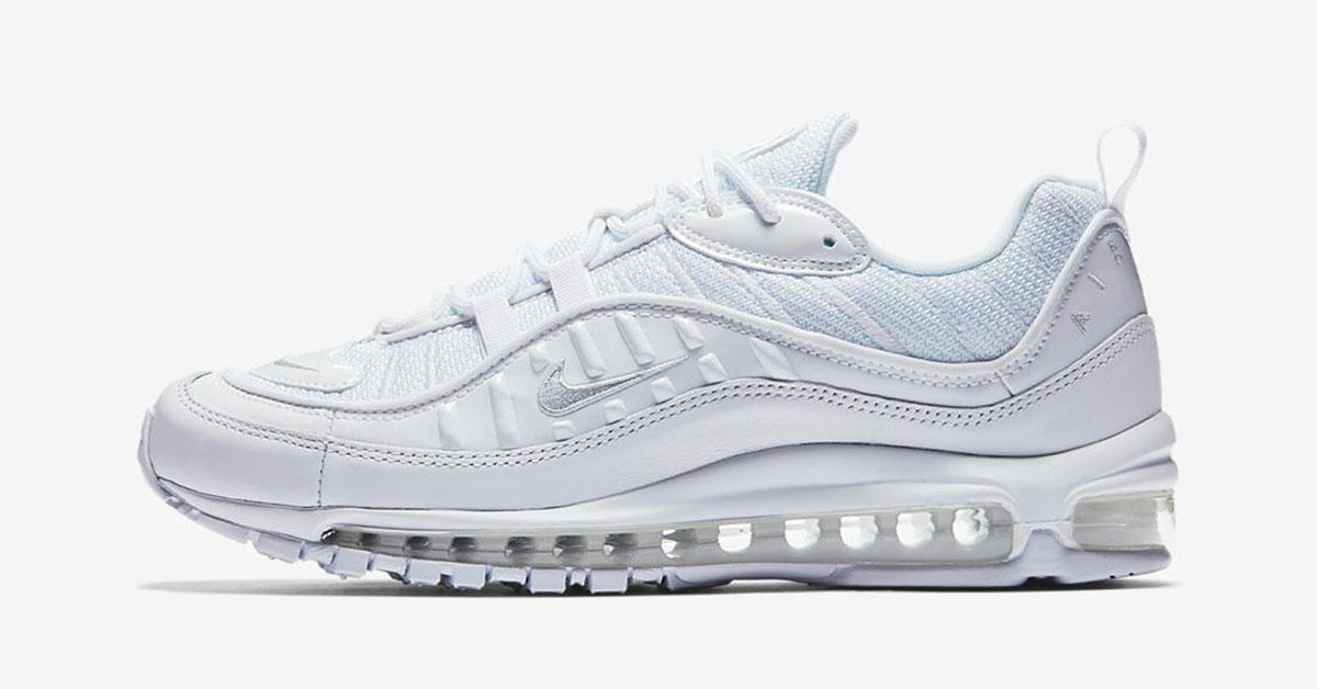 Nike Air Max 98 Triple White 640744-106