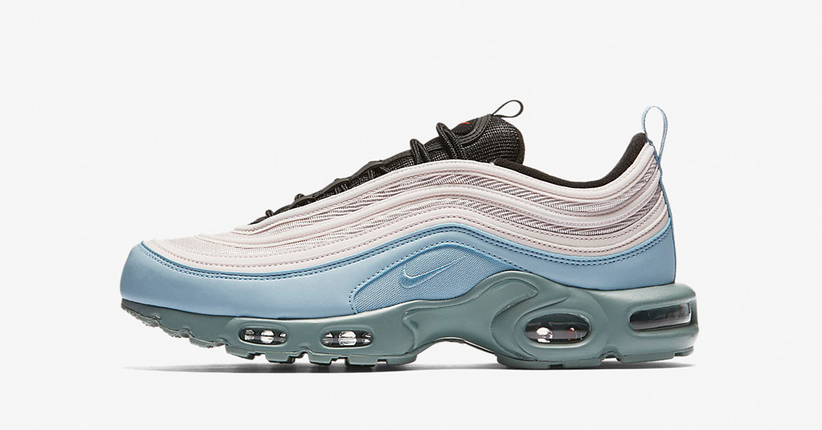 Nike Air Max Plus 97 Mica Green Barely Rose AH8143-300