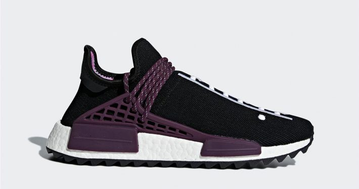 Pharrell Williams x Adidas NMD Hu Trail Holi Black Purple AC7033