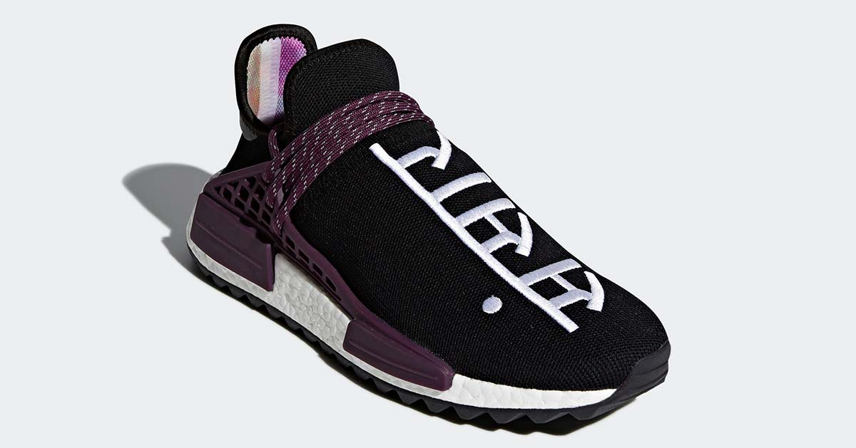Pharrell Williams x Adidas NMD Hu Trail Holi Black Purple AC7033